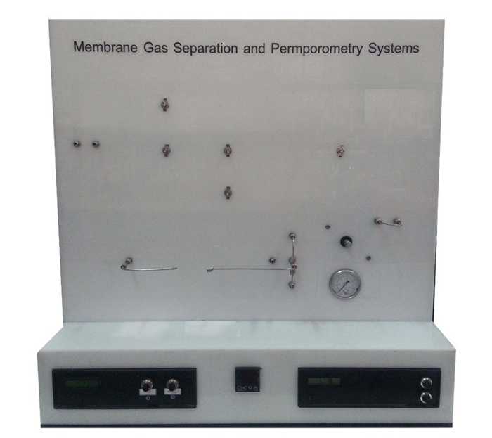 Membrane Gas Separation and Permporometry System