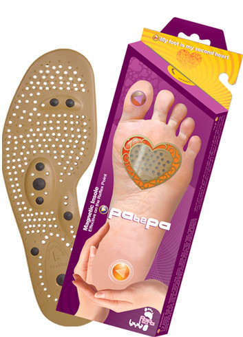 Anti Bacterial Magnetic Massage Foot Insoles (Pabepa)