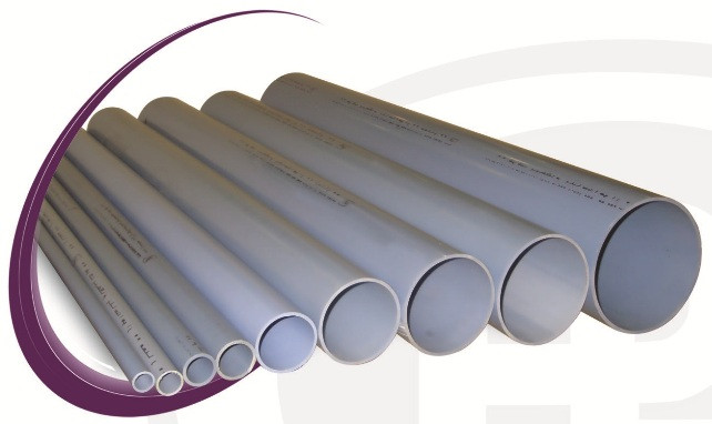 UPVC Sewer Construction Pipe