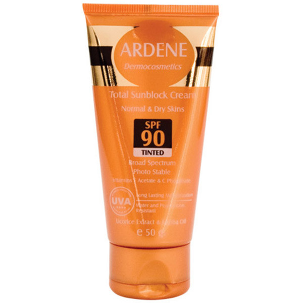 Total Sunblock Tinted Cream (SPF:90)