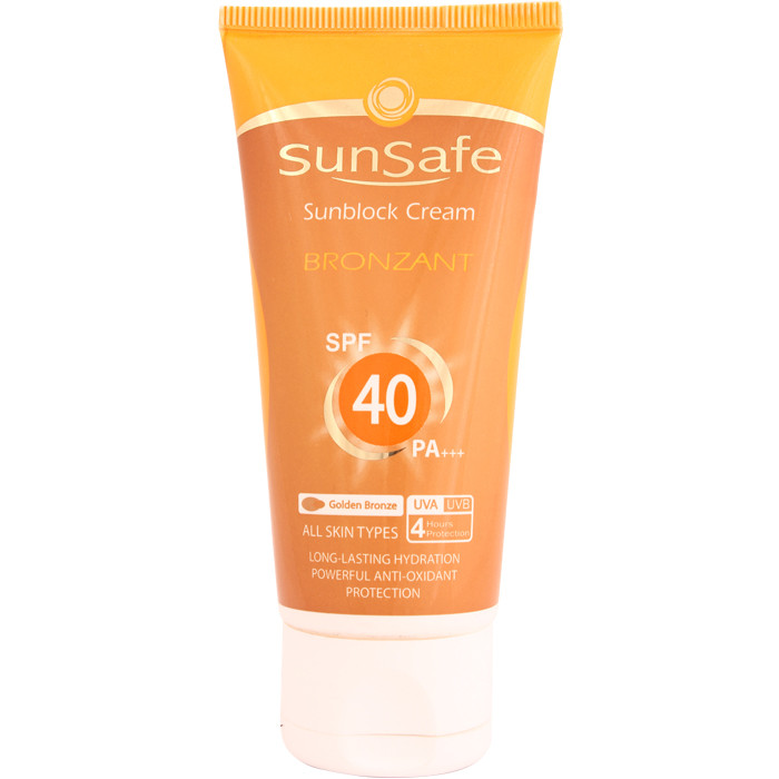 Tanning Sunscreen Cream (SPF:40)