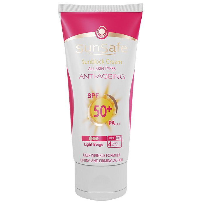 Sunscreen and Anti-Wrinkle Cream (SPF:50)