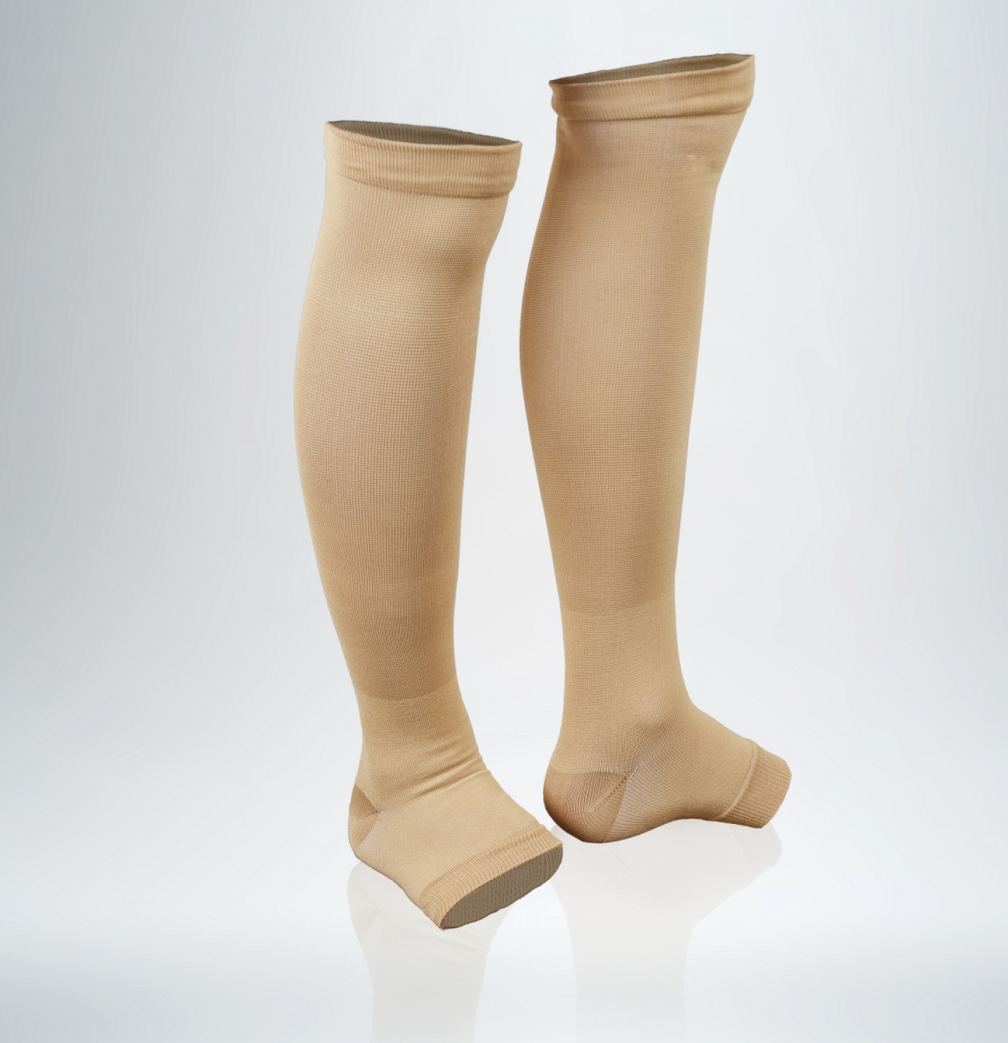 Antibacterial compression stockings